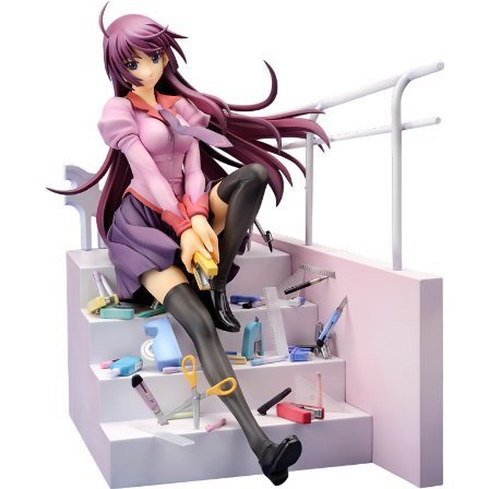 Bakemonogatari 1/7 Scale Pre-Painted PVC Figure: Senjyogahara Hitagi (Alter Version)