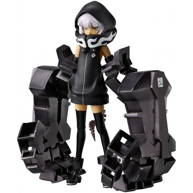 Black Rock Shooter Non Scale Pre-Painted PVC Figure: figma Strength