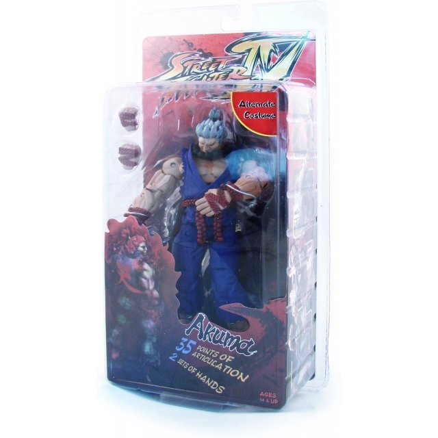 Street Fighter IV Survival Mode Colors Series 2 Pre-Painted Action Figure: Akuma Alternate Costume Ver.