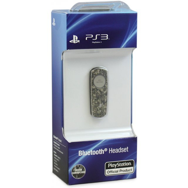 Sony PS3 Bluetooth Headset (Urban Camo)