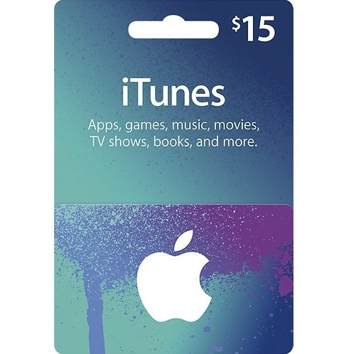 iTunes Card (USD 15 / for US accounts only)