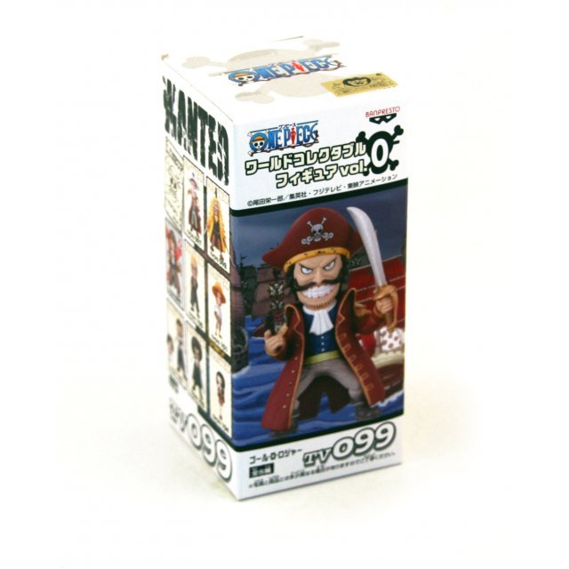 One Piece World Collectable Pre-Painted PVC Figure Vol.0: TV099 - Gol D. Roger