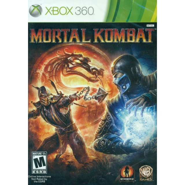 Mortal Kombat (Game only works with NTSC-U/C version, Xbox360 US console)