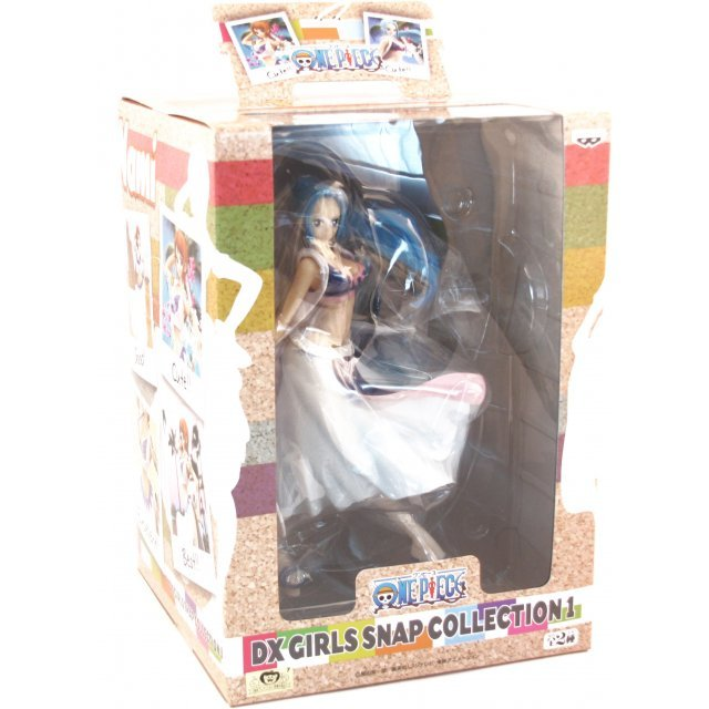 One Piece Girls Snap Collection Vol. 1 Pre-Painted PVC Figure: Vivi