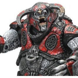 Gears of War 2 Pre-Painted Action Figure: Boomer Mauler