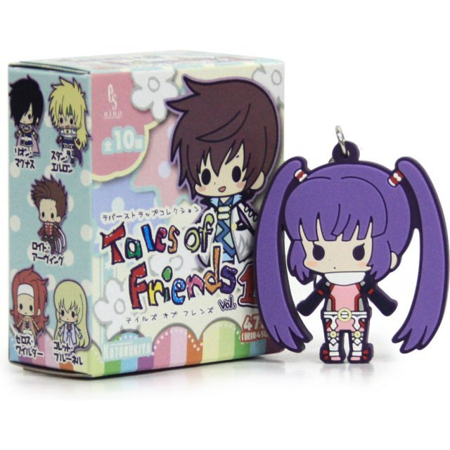 Kotobukiya Tales of Friends Vol.2 Trading Rubber Strap Collection