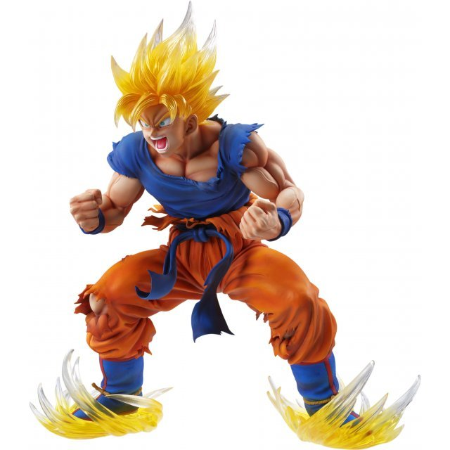 Super Figure Art Collection Dragon Ball Kai: Super Saiyajn Son Gokou Ver.2 Clear Hair (Re-run)