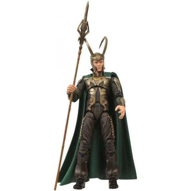 Marvel Select - Thor Movie Pre-Painted Action Figure: Loki