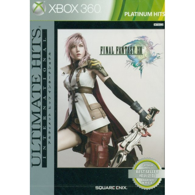 Final Fantasy XIII International (Ultimate Hits Platinum Collection) (English language Version)