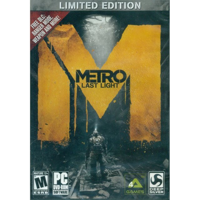 Metro: Last Light (Limited Edition) (DVD-ROM)