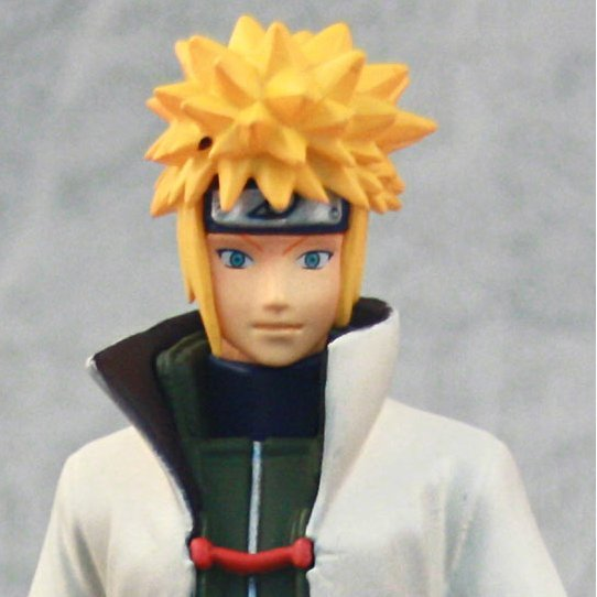 Naruto High Spec Coloring Vol.3 Pre-Painted PVC Figure: Minato