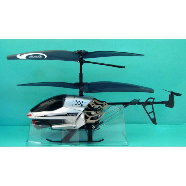 Silverlit R/C Power In Air Infrared Control Helicopter: Spy Cam (Silver Ver.)