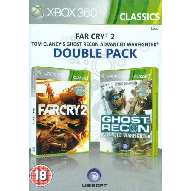 Far Cry 2 & Ghost Recon Advanced Warfighter Double Pack (Classics)