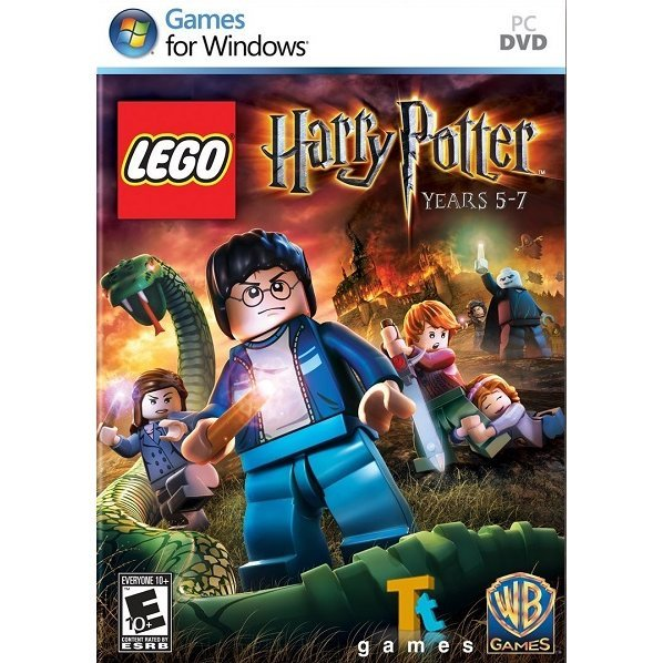 LEGO Harry Potter: Years 5-7 (DVD-ROM) (Not compatible with Windows 7)