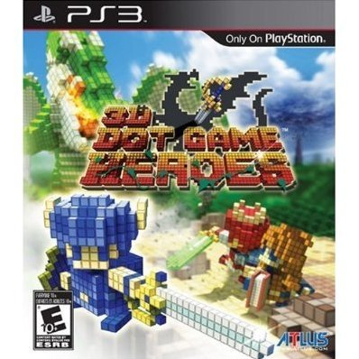 3D Dot Game Heroes (broken case)
