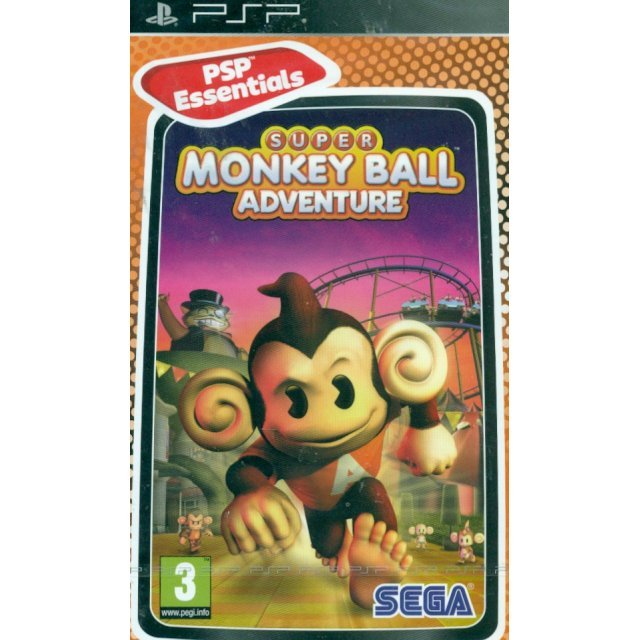 Super Monkey Ball Adventure (PSP Esentials)