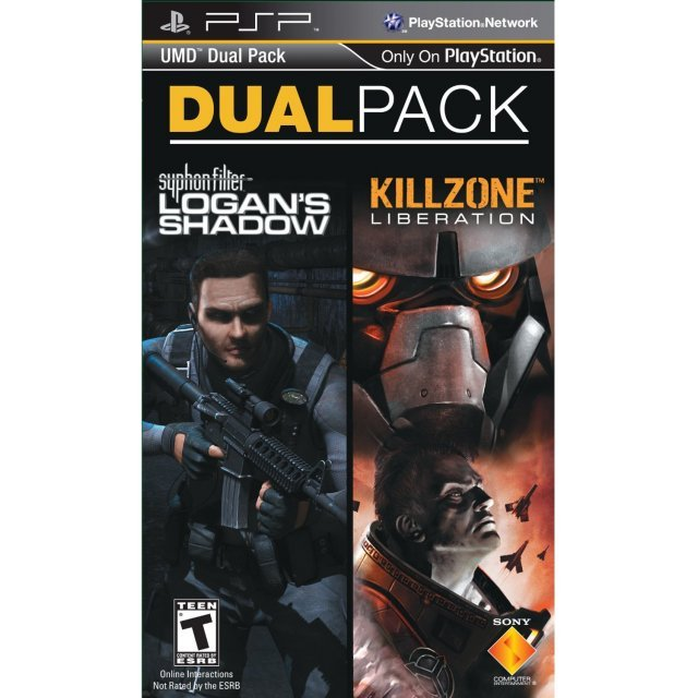 PSP UMD Dual Pack: Killzone: Liberation and Syphon Filter: Logan's Shadow