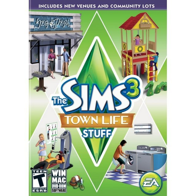 The Sims 3: Town Life Stuff (DVD-ROM)