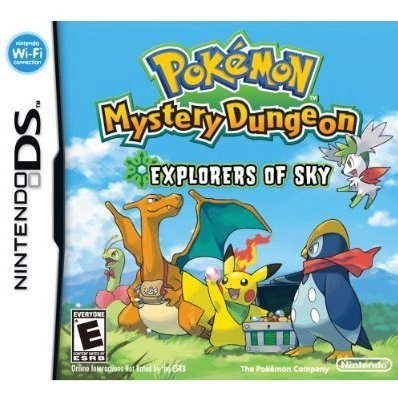 Pokemon Mystery Dungeon Explorers Sky