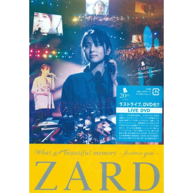 Zard What A Beautiful Memory - Forever You