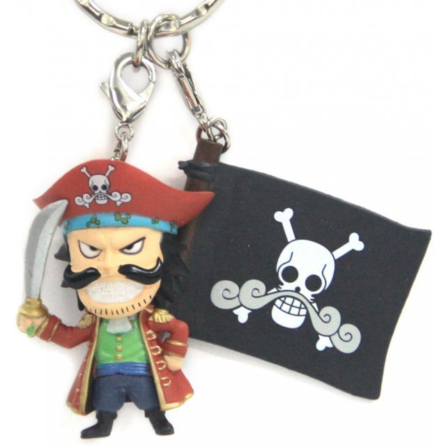 Banpresto One Piece Pre-Painted PVC Key Chain Vol.3: Gol D. Roger