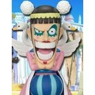One Piece World Collectable Pre-Painted PVC Figure Vol.16: TV133 - Mr. 2