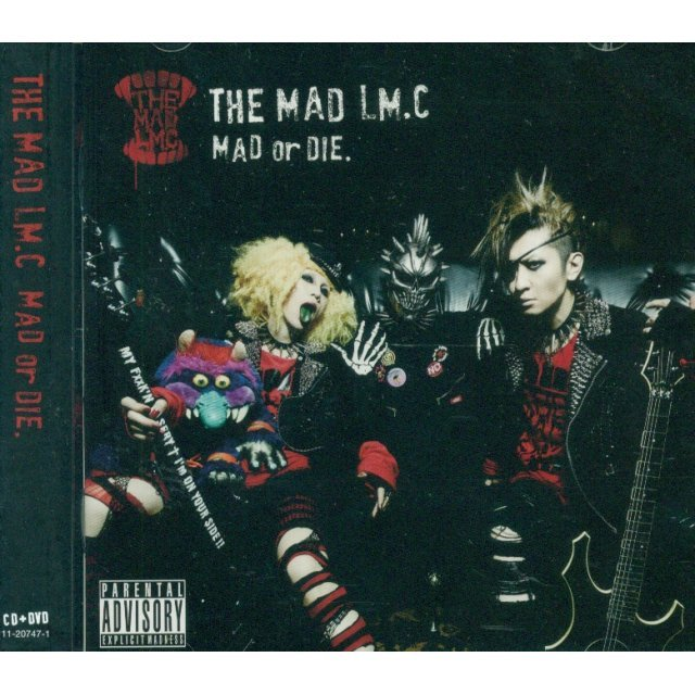 THE MAD LM.C MAD or DIE [CD+DVD Limited Edition Type B]