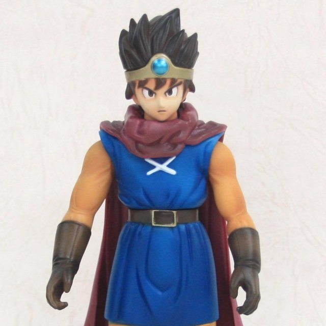Dragon Quest Non Scale Pre-Painted Soft Vinyl Figure: Dragon Quest III Hero