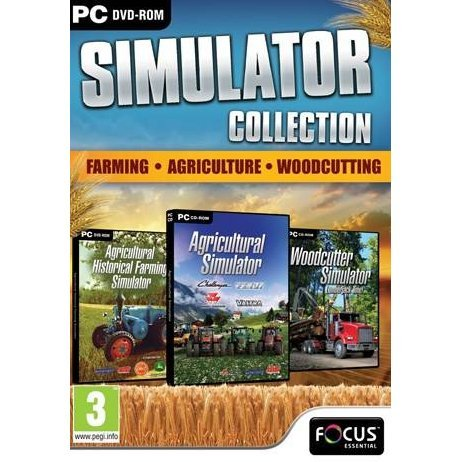 Farming, Agriculture and Woodcutting Simulator Triple Pack (DVD-ROM)
