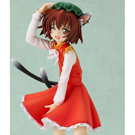 Touhou Project 1/8 Scale Pre-Painted PVC Figure: Black Cat of Ill Omens Chen (Phat Company Ver.)
