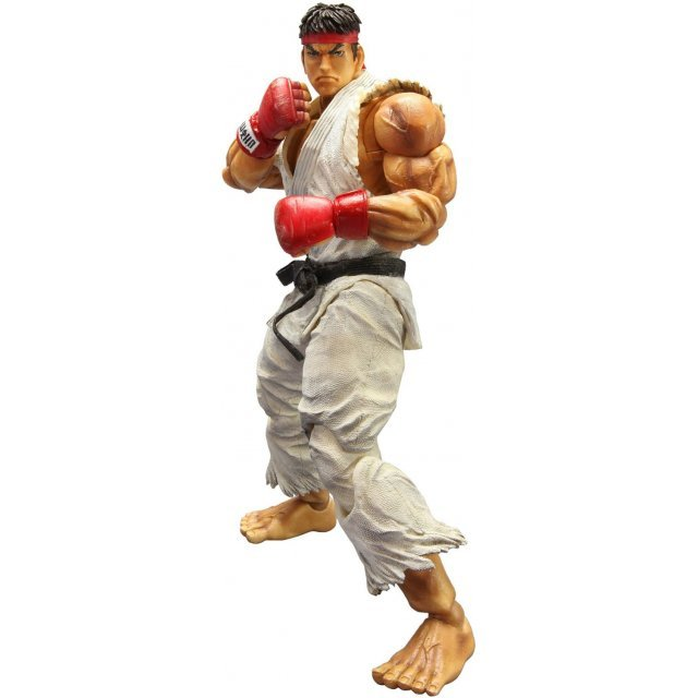 Super Street Fighter IV Play Arts Kai Non Scale Pre-Painted PVC Figure: Ryu