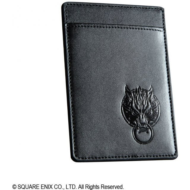 Final Fantasy VII Advent Children Leather Pass Case: Cloud