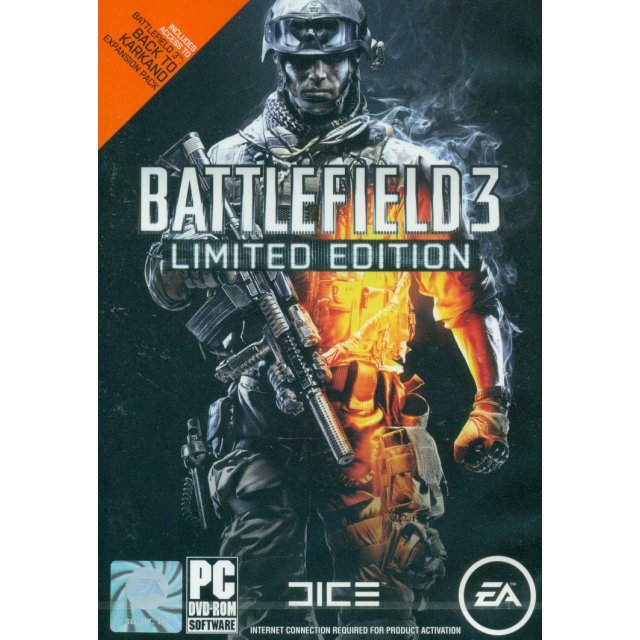 Battlefield 3 (English Version) [Limited Edition] (DVD-ROM)