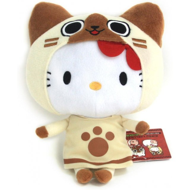 Monster Hunter Airou x Hello Kitty Plush Doll: Kitty