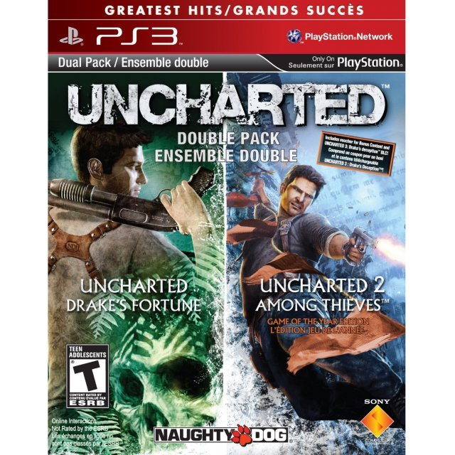 Uncharted Double Pack (Greatest Hits)