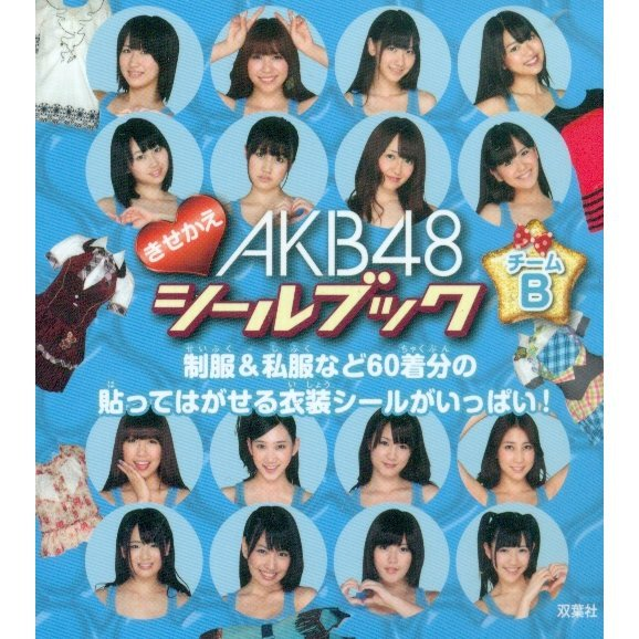 AKB48 Changing Sticker Book Team B