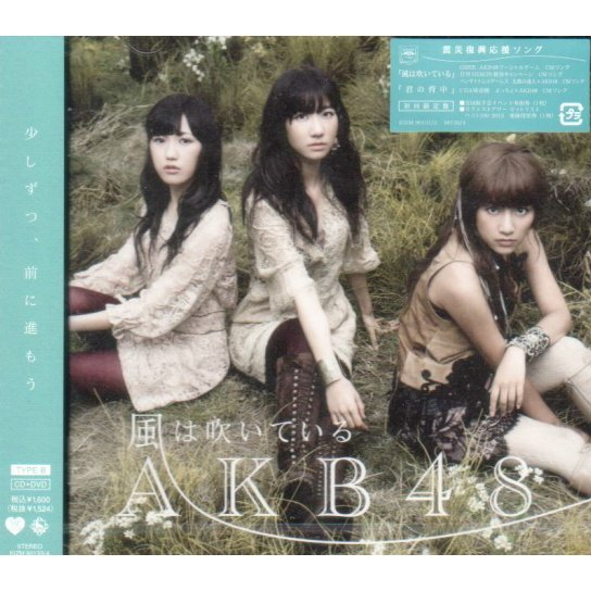 Kaze wa Fuiteiru - Type B [CD+DVD Limited Edition]