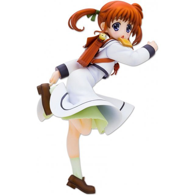 Magical Girl Lyrical Nanoha The Movie 1st 1/8 Scale Pre-Painted  PVC Figure: Nanoha Takamachi School Uniform Ver.