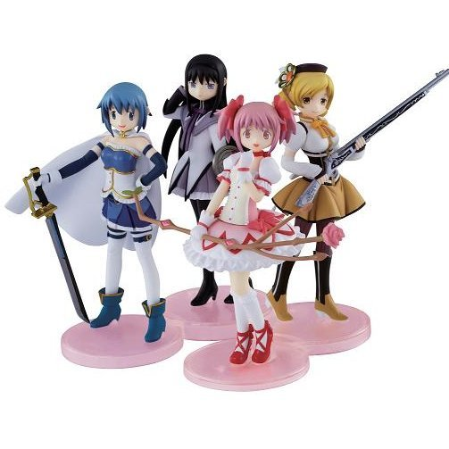 Puella Magi Madoka Magica Magi Collection Non Scale Pre-Painted Candy Toy