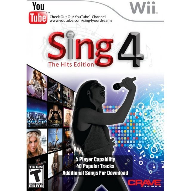 Sing4: The Hits Edition (w/ Microphone)