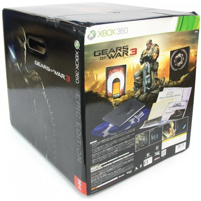 Gears of War 3 (Epic Edition) (Box with minor damage, please refer to image)