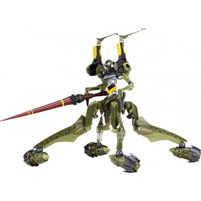 Revoltech Series No.112 - Rebuild of Evangelion Pre-Painted PVC Figure: Eva Provisional Unit-05