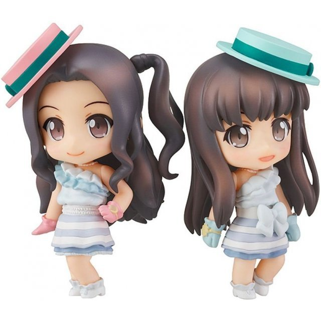 Nendoroid Petite ClariS Non Scale Pre-Painted Figure Set: ClariS Irony Ver.