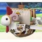 One Piece World Collectable Pre-Painted PVC Figure Vol.18: TV147 - Flying Merry