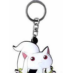 Broccoli Puella Magi Madoka Magica Rubber Key Ring: Kyubey