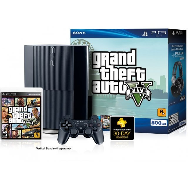 PlayStation 3 Grand Theft Auto V Bundle (500GB)
