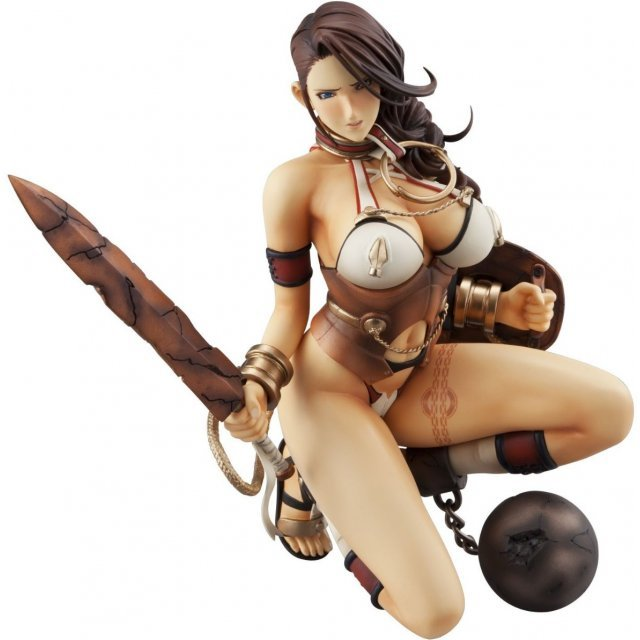 Excellent Model Core Queens Blade Rebellion P-8 1/8 Scale Pre-Painted PVC Figure: Branwen