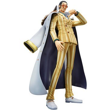Excellent Model One Piece Neo DX Portraits of Pirates 1/8 Scale Pre-Painted PVC Figure: Navy Headquarters General Kizaru (Borsalino)