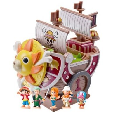 One Piece Chara Bank Pirate Ship Series Non Scale Pre-Painted Figure: Thousand Sunny New World Ver.