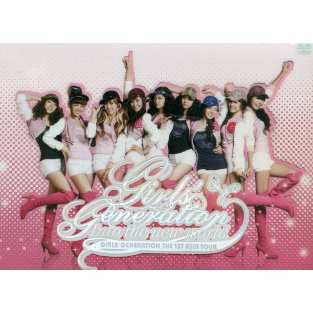 Girls' Generation Live Album - The 1st Asia Tour : Into the New World [2DVD]